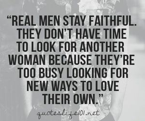 love, quotes, and real men image