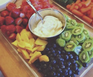 fitness, summer, and healthy food image
