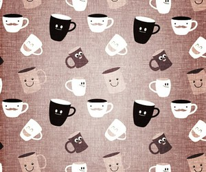 background, coffee, and screen image