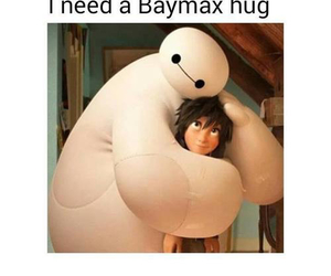 disney, robot, and hug image