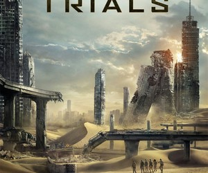 maze runner, the maze runner, and the scorch trials image