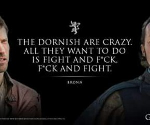 game of thrones, dorne, and bronn image
