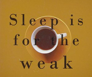 coffee, insomnia, and sleep image