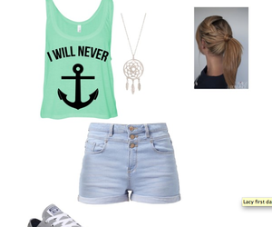 blonde hair, converse, and high waisted shorts image