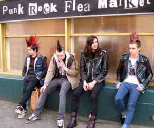 badass, mohawks, and punks image