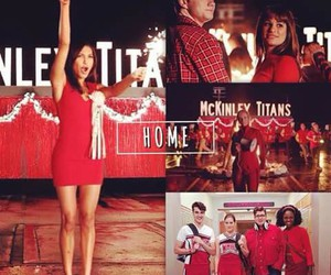 glee, home, and new directions image