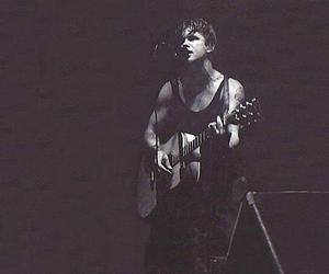 beautiful, black n white, and blind melon image