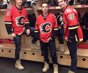 hockey, nhl, and calgary flames image