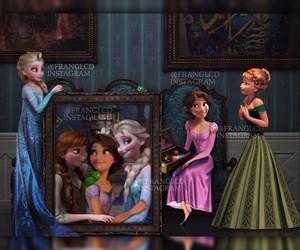 elsa and anna y rapunzel image