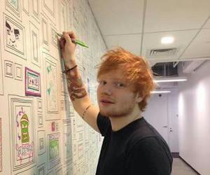 ed sheeran, tattoo, and music image