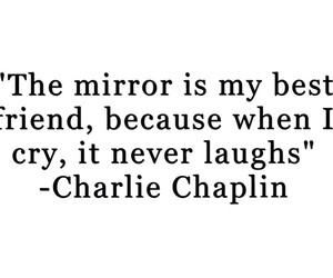 quote, best friend, and charlie chaplin image