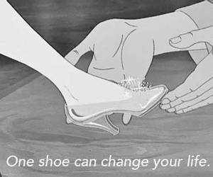 cartoon, shoes, and love image