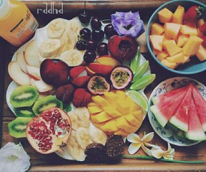 fitness, healthy food, and healthy fruits image
