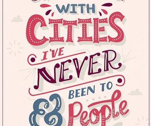 city, quotes, and people image
