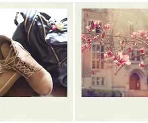 boots and flowers image