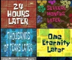 funny, spongebob, and time image
