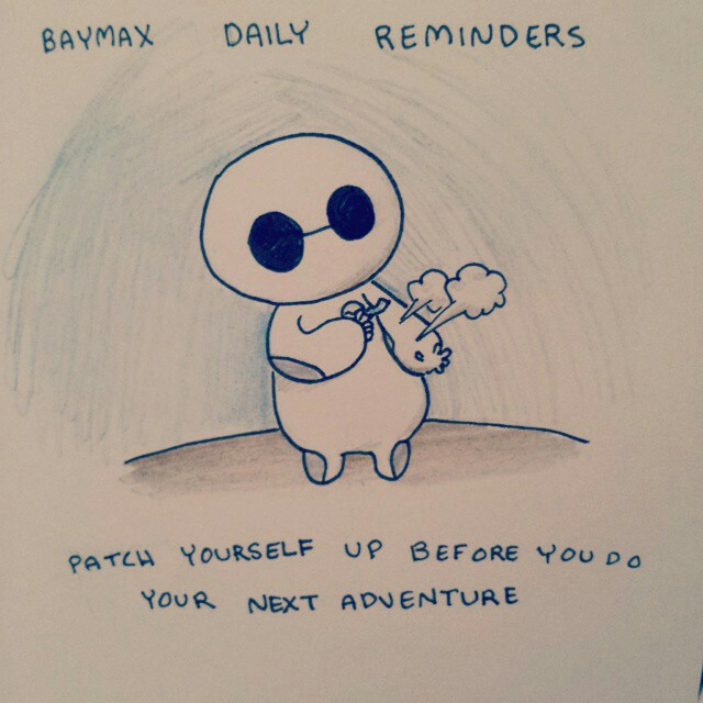 baymax daily reminders uploaded by plunupuǟ