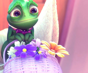 disney, tangled, and pascal image