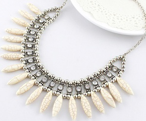 jewel, necklace, and jewelry - necklace image