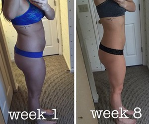 after, fitness, and before image