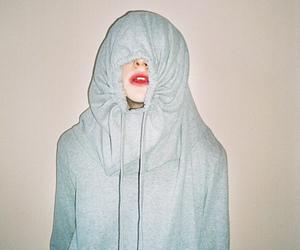 girl, photography, and lips image