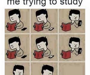 exams, me, and study image
