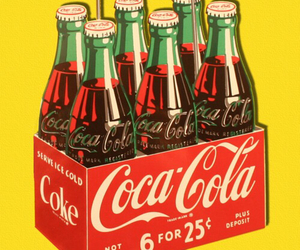 coke, vintage, and coca cola image