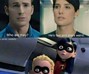 Avengers, The Incredibles, and captain america image