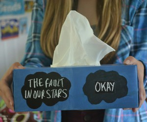 tfios, tissue, and the fault in our stars image