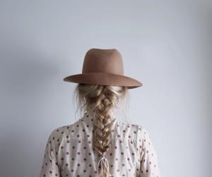 fashion, blonde, and braid image