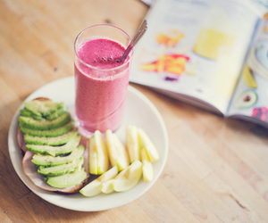 food, apple, and fitness image