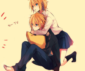 vocaloid, anime, and couple image