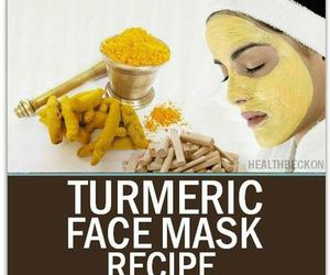 turmeric for skin and turmeric face mask image