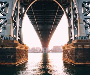 bridge, photography, and new york image