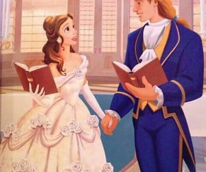 beauty and the beast, love, and Dream image