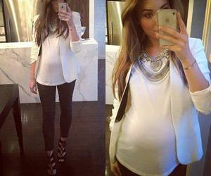 fashion, iphone, and pregnant image