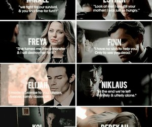 The Originals, mikaelsons, and Witches image