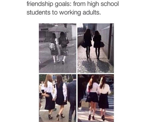 goals, life, and friends image