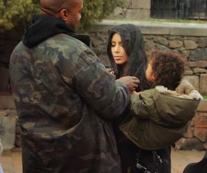 kim kardashian, kanye west, and armenia image