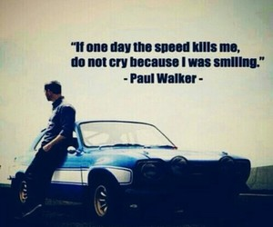 paul walker, fast and furious, and car image
