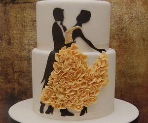cake, dance, and dress image