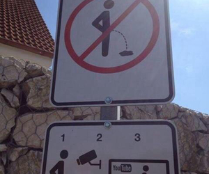 sign, funny, and street image