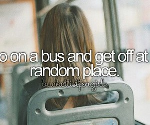 bus, place, and random image