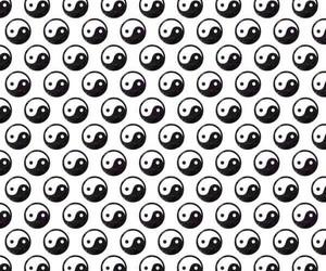 wallpaper and yin yang image