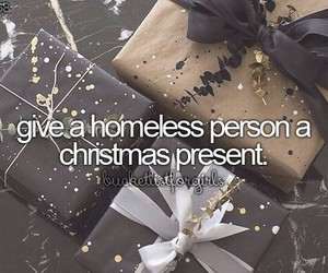 bucket list, christmas, and present image