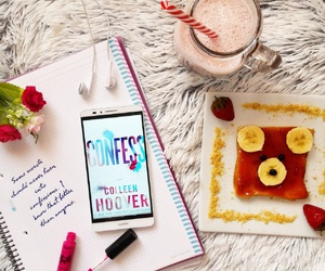 book, bookworm, and breakfast image