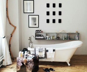 bathroom, house, and white image