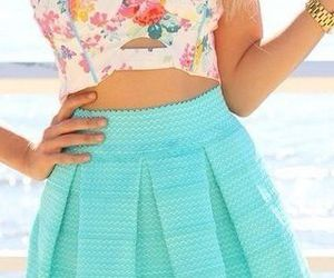 fashion, summer, and skirt image
