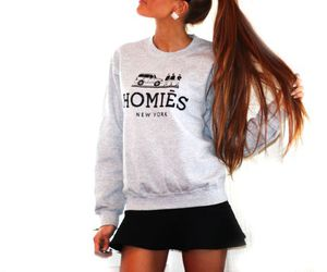 fashion, girl, and homies image