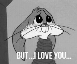 love, bugs bunny, and bunny image